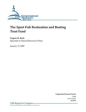 Primary view of object titled 'The Sport Fish Restoration and BoatingTrust Fund'.