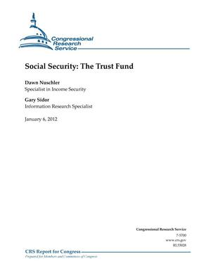 Primary view of object titled 'Social Security: The Trust Fund'.
