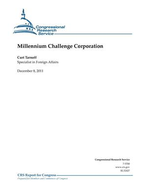 Primary view of object titled 'Millennium Challenge Corporation'.