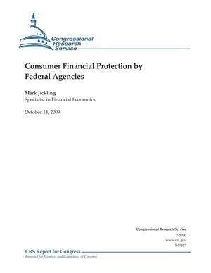 Primary view of object titled 'Consumer Financial Protection by Federal Agencies'.