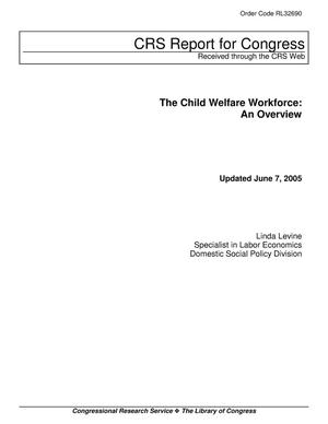 Primary view of object titled 'The Child Welfare Workforce: An Overview'.