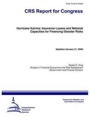 Primary view of object titled 'Hurricane Katrina: Insurance Losses and National Capacities for Financing Disaster Risks'.