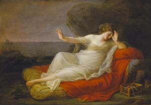 Primary view of Ariadne Abandoned by Theseus on Naxos