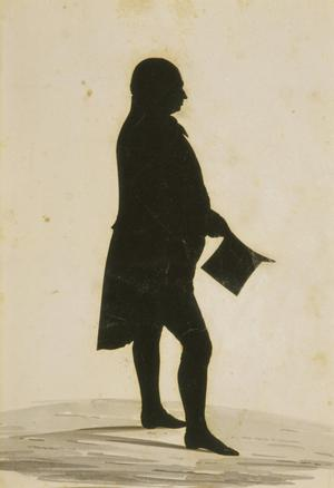 Silhouette of Charles Willson Peale