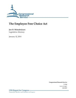 Primary view of object titled 'The Employee Free Choice Act'.