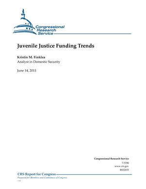 Primary view of object titled 'Juvenile Justice Funding Trends'.