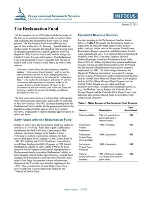 Primary view of object titled 'The Reclamation Fund'.