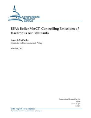 Primary view of object titled 'EPA's Boiler MACT: Controlling Emissions of Hazardous Air Pollutants'.