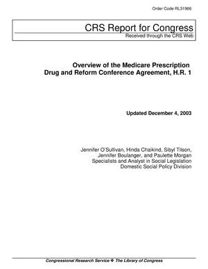 Primary view of object titled 'Overview of the Medicare Prescription Drug and Reform Conference Agreement, H.R. 1'.