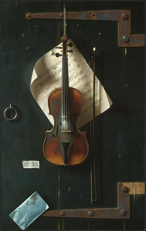 Primary view of object titled 'The Old Violin'.