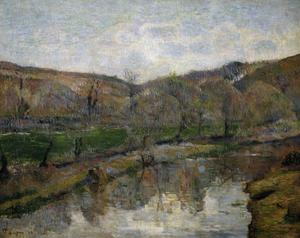 Primary view of object titled 'Brittany Landscape'.