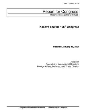 Primary view of object titled 'Kosovo and the 106th Congress'.