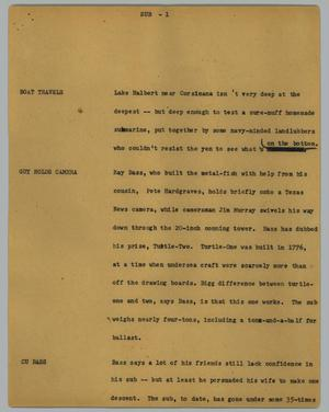 Primary view of object titled '[News Script: Sub]'.