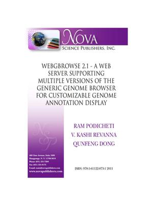 Primary view of object titled 'WebGBrowse 2.1 - A Web Server Supporting Multiple Versions of the Generic Genome Browser for Customizable Genome Annotation Display'.