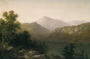 Primary view of object titled 'View on Lake George'.