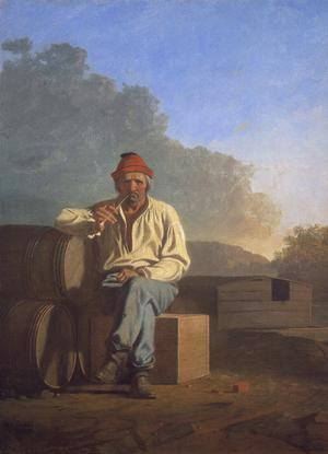 Primary view of object titled 'Mississippi Boatman'.