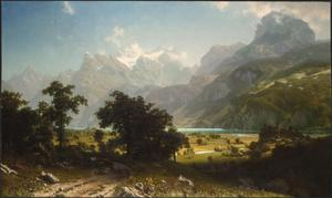 Primary view of object titled 'Lake Lucerne'.