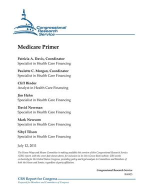 Primary view of object titled 'Medicare Primer'.