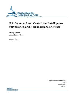 Primary view of object titled 'U.S. Command and Control and Intelligence, Surveillance, and Reconnaissance Aircraft'.