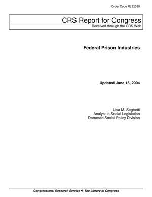 Primary view of object titled 'Federal Prison Industries'.