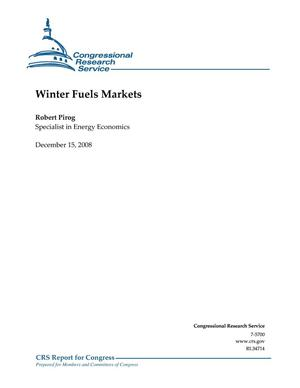 Primary view of object titled 'Winter Fuels Market'.