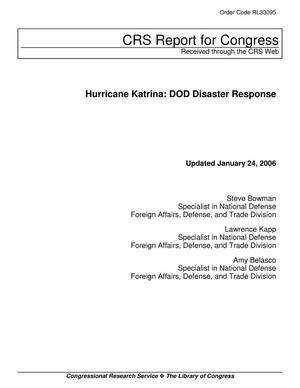 Primary view of object titled 'Hurricane Katrina: DOD Disaster Response'.