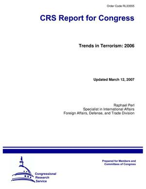 Primary view of object titled 'Trends in Terrorism: 2006'.