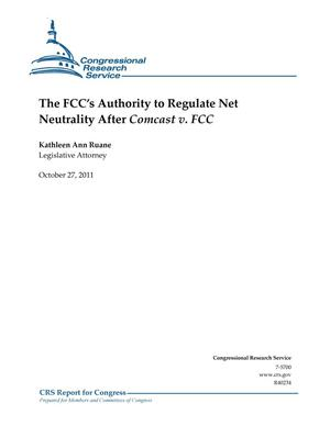 Primary view of object titled 'The FCC's Authority to Regulate Net Neutrality After Comcast v. FCC'.