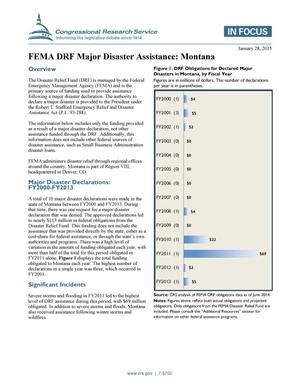 Primary view of object titled 'FEMA DRF Major Disaster Assistance: Montana'.