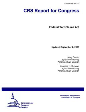 Primary view of object titled 'Federal Tort Claims Act'.
