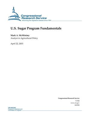 Primary view of object titled 'U.S. Sugar Program Fundamentals'.