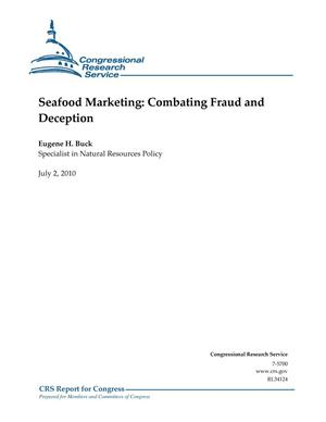 Primary view of object titled 'Seafood Marketing: Combating Fraud and Deception'.