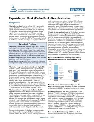 Primary view of object titled 'Export-Import Bank (Ex-Im Bank) Reauthorization'.
