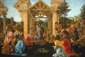 Primary view of object titled 'The Adoration of the Magi'.
