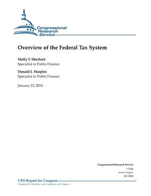 Primary view of object titled 'Overview of the Federal Tax System'.