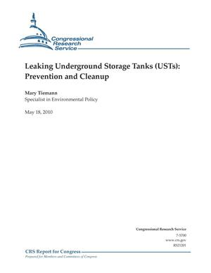 Primary view of object titled 'Leaking Underground Storage Tanks (USTs): Prevention and Cleanup'.