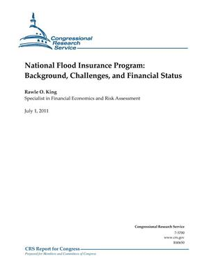 Primary view of object titled 'National Flood Insurance Program: Background, Challenges, and Financial Status'.