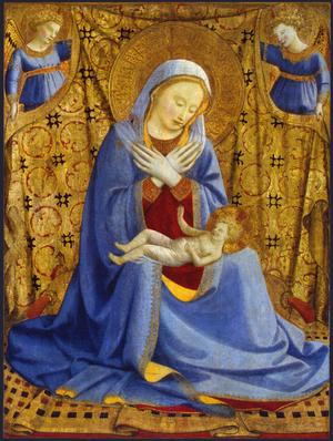 Primary view of object titled 'The Madonna of Humility'.