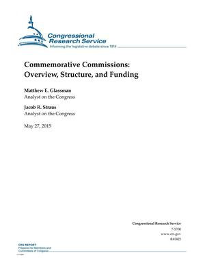Primary view of object titled 'Commemorative Commissions: Overview, Structure, and Funding'.