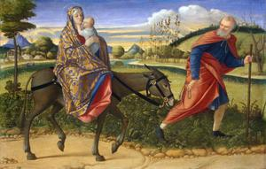 Primary view of The Flight into Egypt