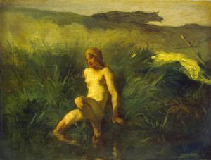 Primary view of The Bather