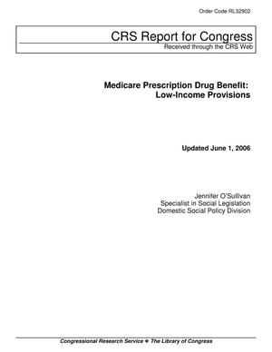 Primary view of object titled 'Medicare Prescription Drug Benefit: Low-Income Provisions'.