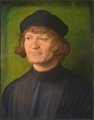Primary view of Portrait of a Clergyman (Johann Dorsch?)