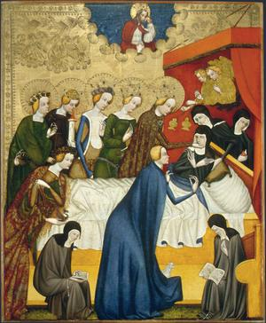 The Death of St Clare