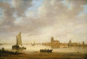 Primary view of View of Dordrecht from the Dordtse Kil