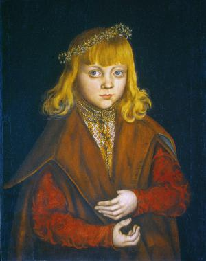 Primary view of A Prince of Saxony