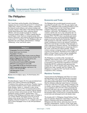 Primary view of object titled 'The Philippines'.