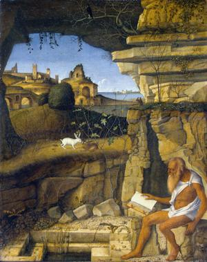 Primary view of Saint Jerome Reading