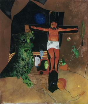Primary view of object titled 'Mystical Crucifixion'.