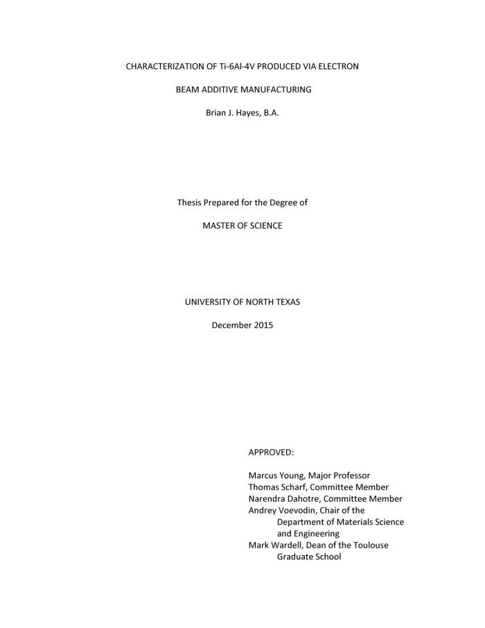 unt thesis reader